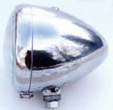 Main reflectors, lamps for main reflectors