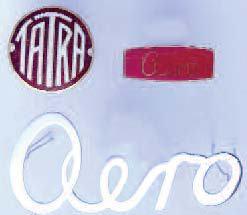 Zeichen am Kühler, Tachometer and Uhren