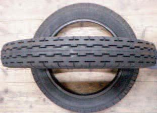Gumové zástěrky, pneumatiky