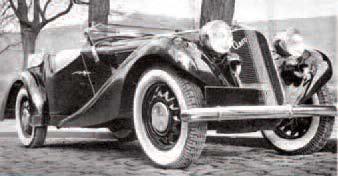 Chassis und Karosserie AERO 30,50