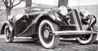 Chassis and bodywork AERO 30,50